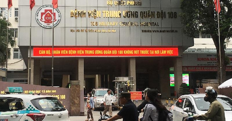 Khám đau lưng ở đâu Hà Nội - Bệnh viện 108